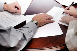 person signing a will